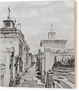 New Orleans: Cemetery Wood Print by Granger