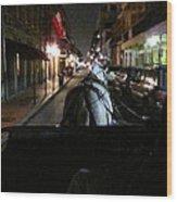 New Orleans - City At Night - 121210 Wood Print