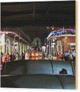 New Orleans - City At Night - 121217 Wood Print