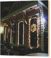 New Orleans - City At Night - 121219 Wood Print