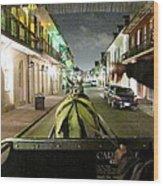 New Orleans - City At Night - 121222 Wood Print