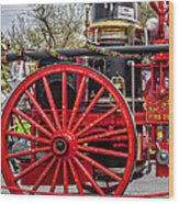New Orleans Fire Department 1896 Wood Print