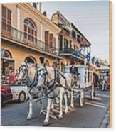 New Orleans Funeral Wood Print