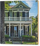 New Orleans Home 6 Wood Print