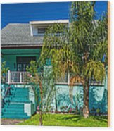 New Orleans Home 7 Wood Print