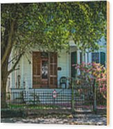 New Orleans Home 8 Wood Print