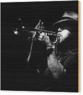 New Orleans Jazz Wood Print
