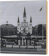 New Orleans La Wood Print