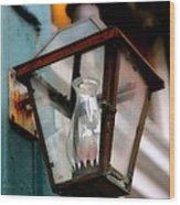 New Orleans Lamp Wood Print