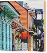 New Orleans Living Wood Print