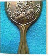 New Orleans Louisiana Usa Mardi Gras Favor Rex 1912 Wood Print