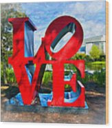 New Orleans Love 2 Wood Print