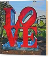 New Orleans Love 3 Wood Print