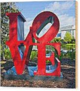 New Orleans Love Wood Print