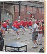 New Orleans - Mardi Gras Parades - 1212105 Wood Print