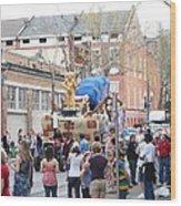 New Orleans - Mardi Gras Parades - 1212114 Wood Print