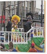 New Orleans - Mardi Gras Parades - 1212120 Wood Print