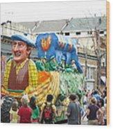 New Orleans - Mardi Gras Parades - 1212126 Wood Print