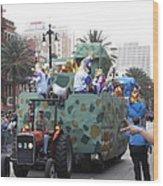 New Orleans - Mardi Gras Parades - 121214 Wood Print