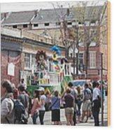 New Orleans - Mardi Gras Parades - 1212142 Wood Print
