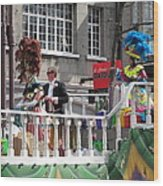 New Orleans - Mardi Gras Parades - 1212144 Wood Print