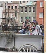 New Orleans - Mardi Gras Parades - 1212145 Wood Print