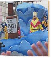 New Orleans - Mardi Gras Parades - 121221 Wood Print
