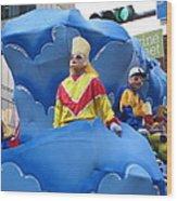 New Orleans - Mardi Gras Parades - 121222 Wood Print