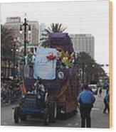 New Orleans - Mardi Gras Parades - 121226 Wood Print