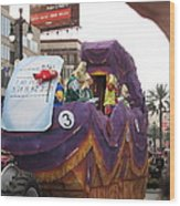 New Orleans - Mardi Gras Parades - 121228 Wood Print