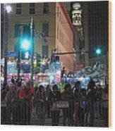New Orleans - Mardi Gras Parades - 121241 Wood Print