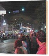 New Orleans - Mardi Gras Parades - 121243 Wood Print