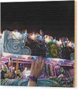 New Orleans - Mardi Gras Parades - 121245 Wood Print
