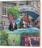 New Orleans - Mardi Gras Parades - 121279 Wood Print