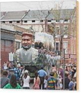 New Orleans - Mardi Gras Parades - 121285 Wood Print