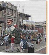 New Orleans - Mardi Gras Parades - 121286 Wood Print