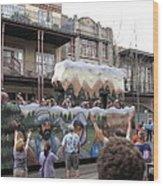 New Orleans - Mardi Gras Parades - 121287 Wood Print