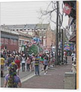 New Orleans - Mardi Gras Parades - 121290 Wood Print