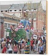 New Orleans - Mardi Gras Parades - 121291 Wood Print