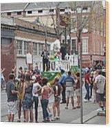New Orleans - Mardi Gras Parades - 121295 Wood Print