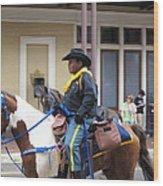 New Orleans - Mardi Gras Parades - 121299 Wood Print