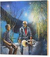 New Orleans Nights 02 Wood Print
