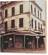 New Orleans - Old Absinthe Bar Wood Print