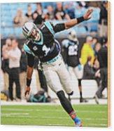 New Orleans Saints V Carolina Panthers Wood Print