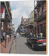 New Orleans - Seen On The Streets - 12122 Wood Print