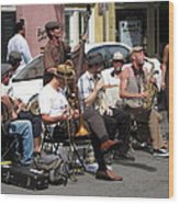 New Orleans - Seen On The Streets - 121234 Wood Print