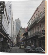 New Orleans - Seen On The Streets - 121235 Wood Print
