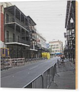 New Orleans - Seen On The Streets - 121237 Wood Print