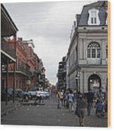New Orleans - Seen On The Streets - 121241 Wood Print
