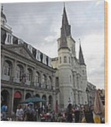 New Orleans - Seen On The Streets - 121242 Wood Print